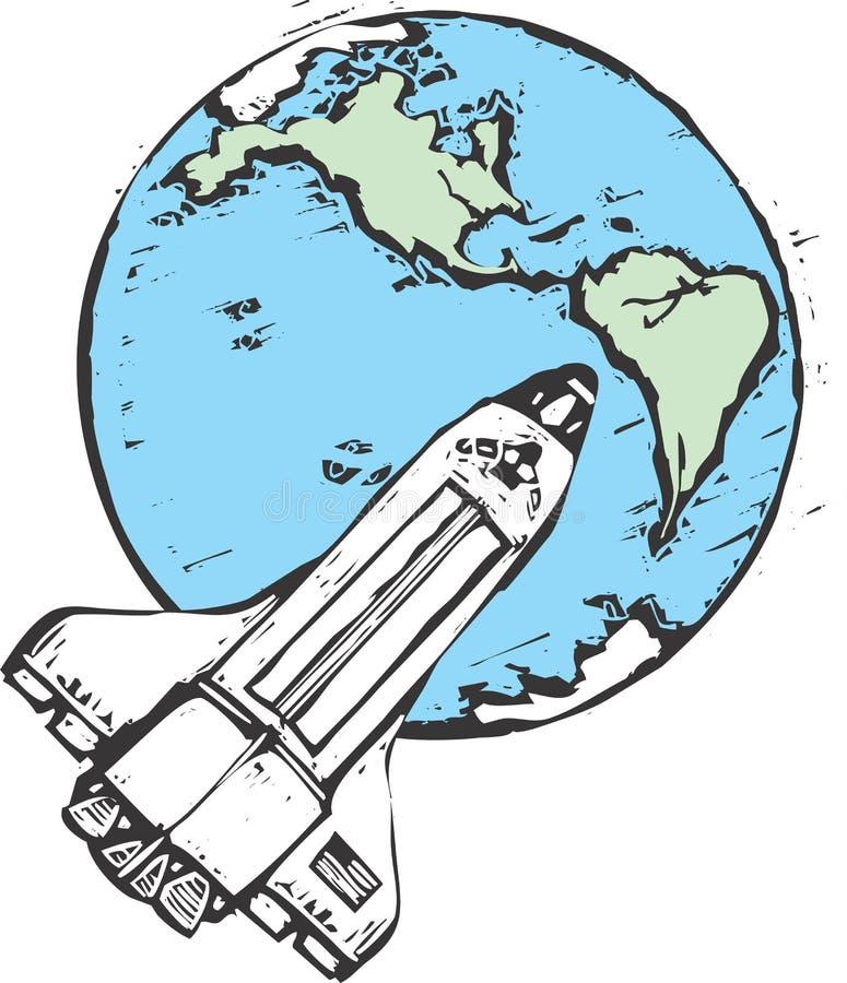 Lanzadera en órbita libre illustration
