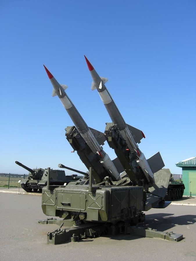 Lanzador de misil foto de archivo