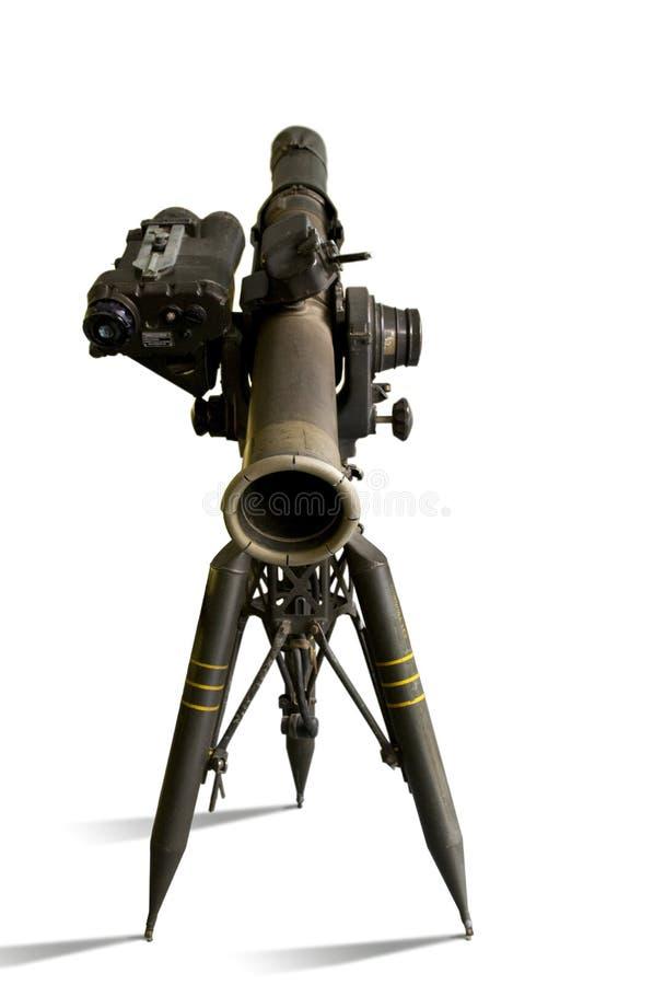 Lanzador de misil de la REMOLQUE fotos de archivo
