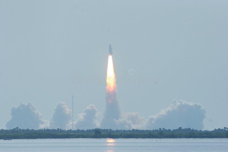 Lanzamiento de la lanzadera STS114 fotografía de archivo libre de regalías