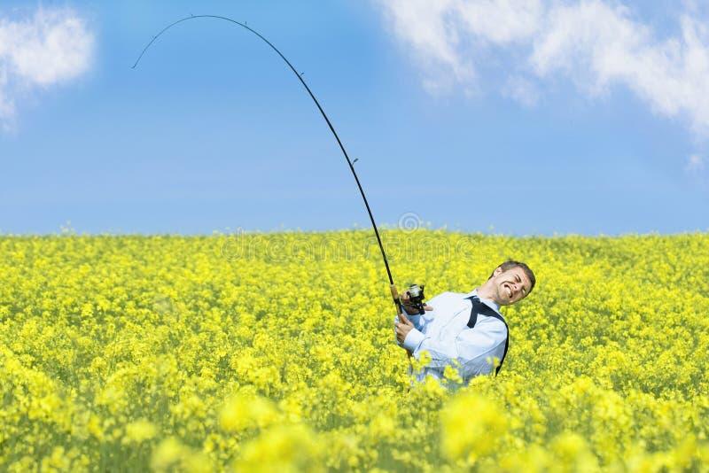 Lanzamiento de los pescados grandes imagen de archivo libre de regalías