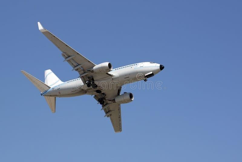 Lanzamiento del aeroplano imagenes de archivo