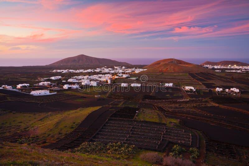 Lanzarote royalty-vrije stock foto