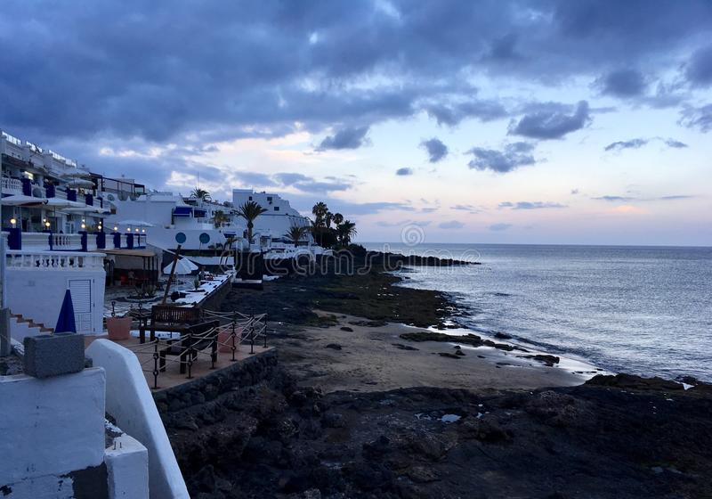 Lanzarote fotografia de stock