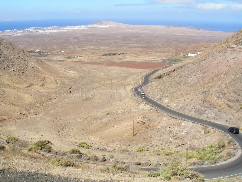 Lanzarote stock image