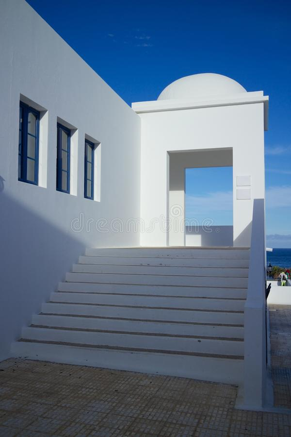 Lanzarote Business Building 1 royalty free stock photo