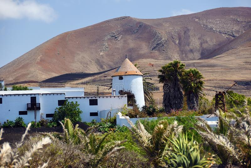 Lanzarote countryside. Canary Islands. Spain stock image