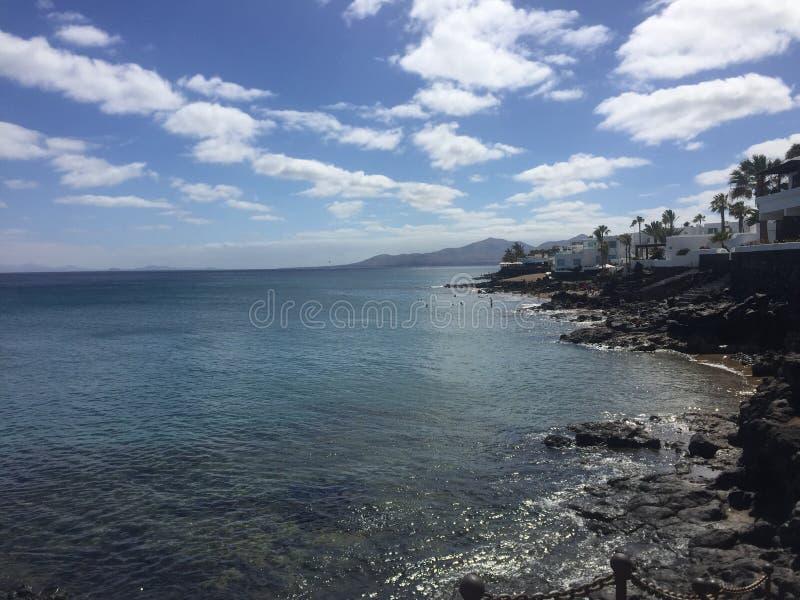 Lanzarote graziosa fotografia stock