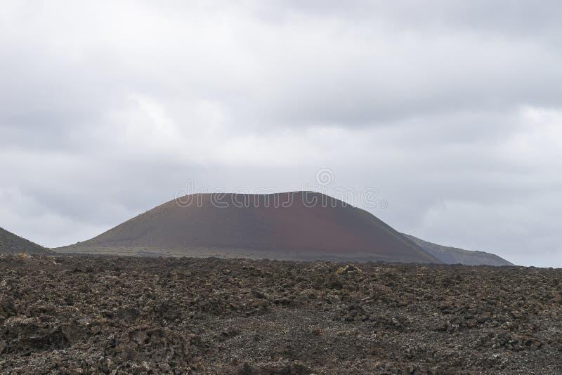 Lanzarote krajobraz fotografia stock