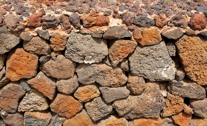 Download Lanzarote La Guatiza Masonry With Volcanic Stones Stock Photo - Image: 26594592