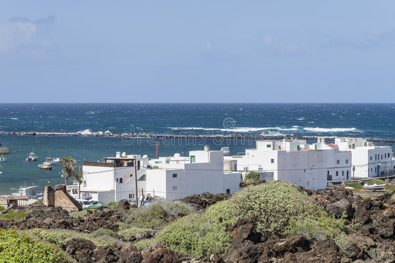 Download Lanzarote landscapes editorial stock image. Image of hill - 53401829