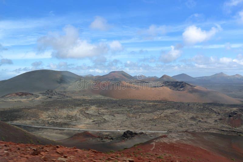 Lanzarote nos Canaries imagem de stock royalty free