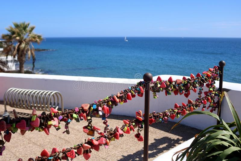 Lanzarote op de Canarische Eilanden royalty-vrije stock afbeelding