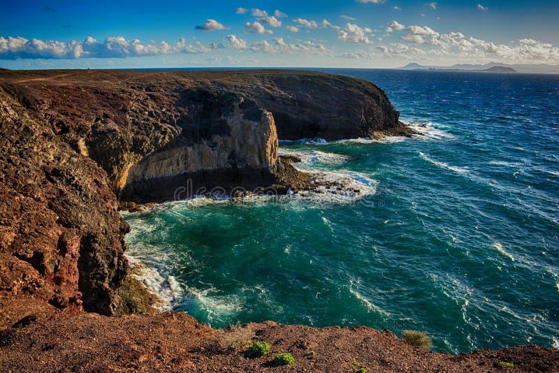 Lanzarote, Papagayo στοκ φωτογραφίες με δικαίωμα ελεύθερης χρήσης