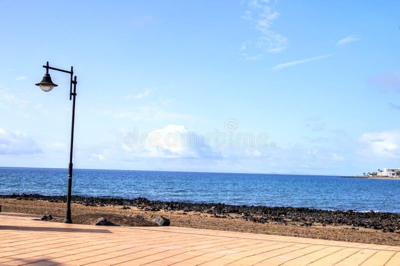 Lanzarote - Spain. Beaches on the Canary island of Lanzarote - Spain stock photos