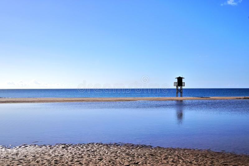 Lanzarote - Spain. Beaches on the Canary island of Lanzarote - Spain stock images