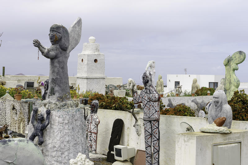 Lanzarote, Teguise fotografía de archivo libre de regalías