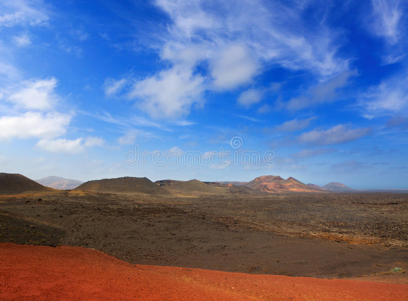 Download Lanzarote Timanfaya Fire Mountains Volcanic Lava Stock Image - Image: 26594977
