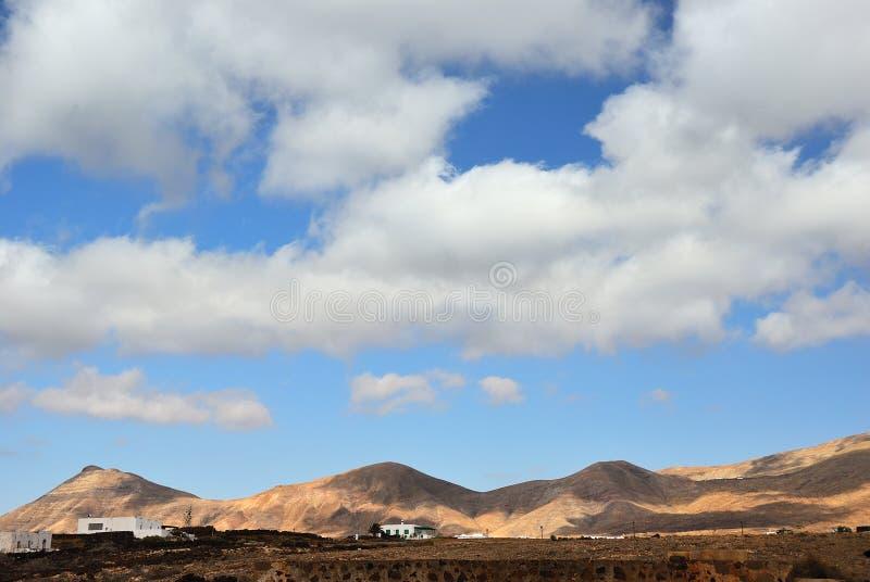 Lanzarote wieś wyspa kanaryjska Tenerife Hiszpania zdjęcia stock
