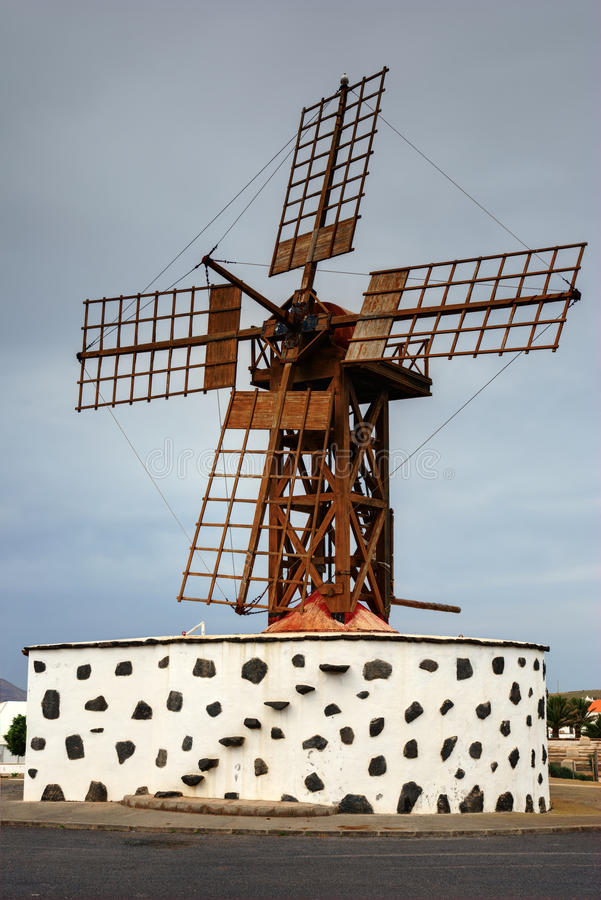 Download Lanzarote Windmill stock photo. Image of heritage, culture - 18739246