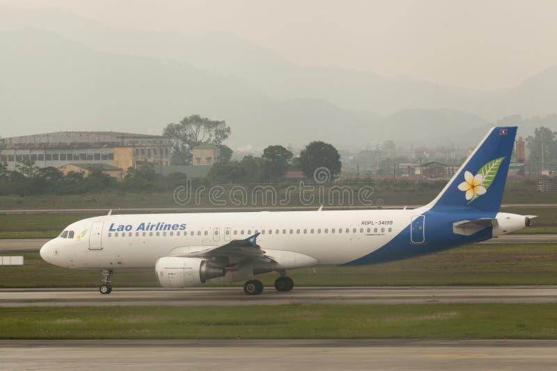 Lao Airlines imagens de stock