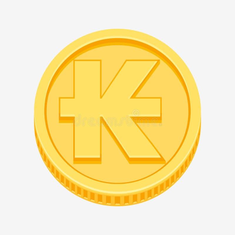 Free Lao Kip Symbol On Gold Coin Royalty Free Stock Photo - 99276375