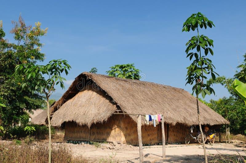 Lao, Muang Sing - rural scene royalty free stock photos