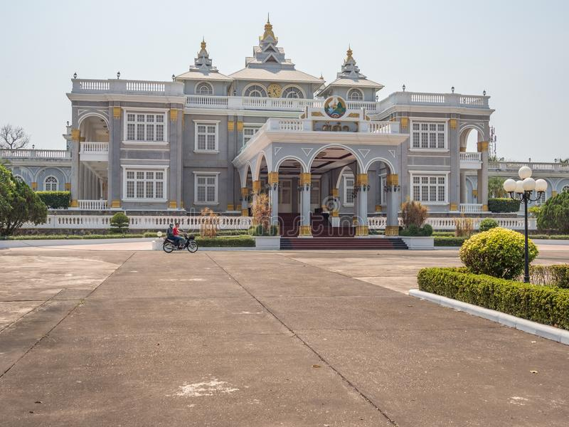 Lao Presidential Palace Vientiane, Laos imagem de stock royalty free