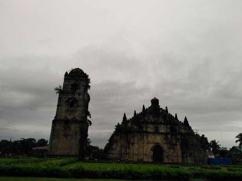 Laoag City Ilocos Norte Paoay Church royalty free stock photos