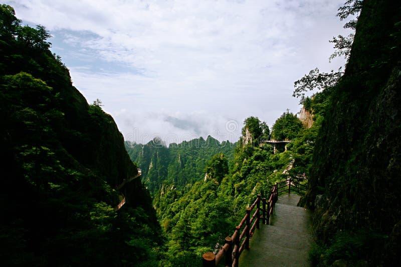 Laojunberg in Luoyang stock fotografie
