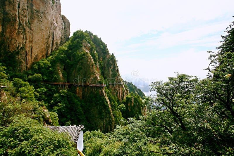 Laojunberg in Luoyang royalty-vrije stock afbeeldingen