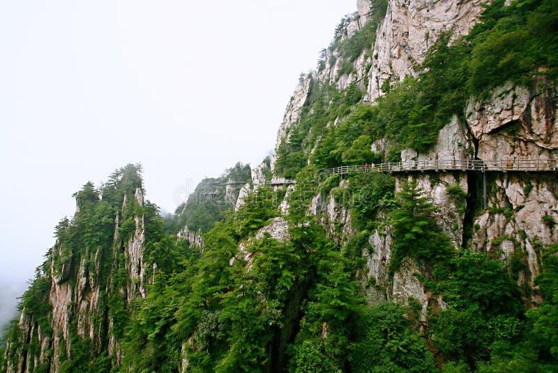 Laojunberg in Luoyang stock afbeeldingen