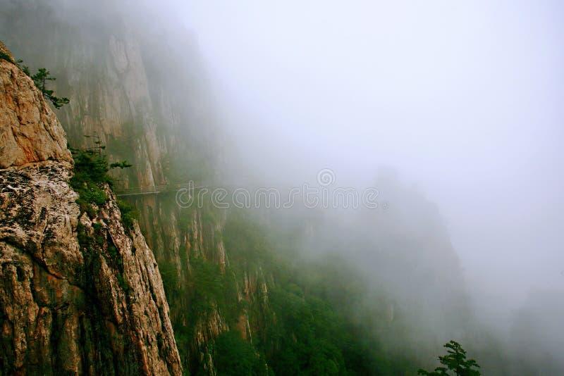 Laojunberg in Luoyang royalty-vrije stock foto