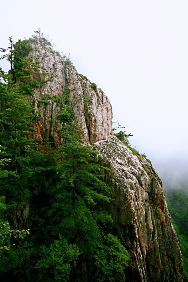 Laojunberg in Luoyang royalty-vrije stock fotografie