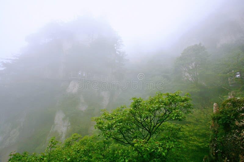 Laojunberg in Luoyang stock afbeelding