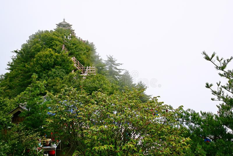 Laojunberg in Luoyang royalty-vrije stock afbeelding