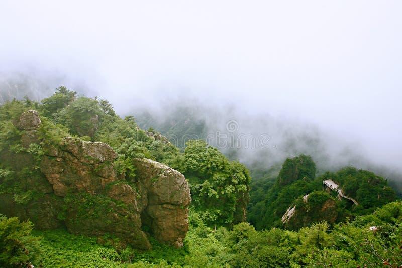 Laojunberg in Luoyang royalty-vrije stock foto's