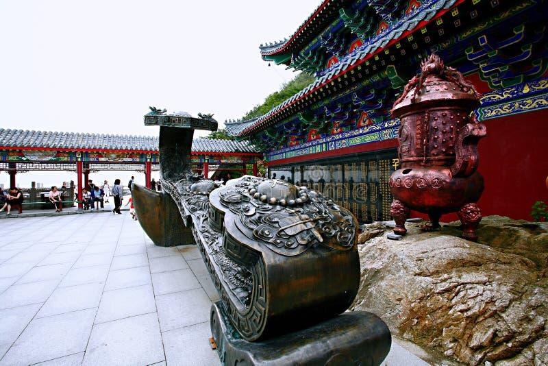 Laojunberg in Luoyang stock foto