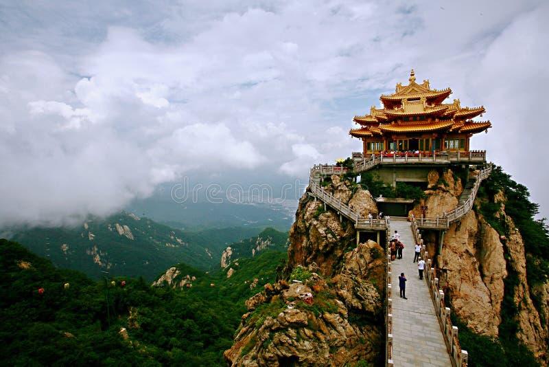 Laojunberg in Luoyang stock foto's