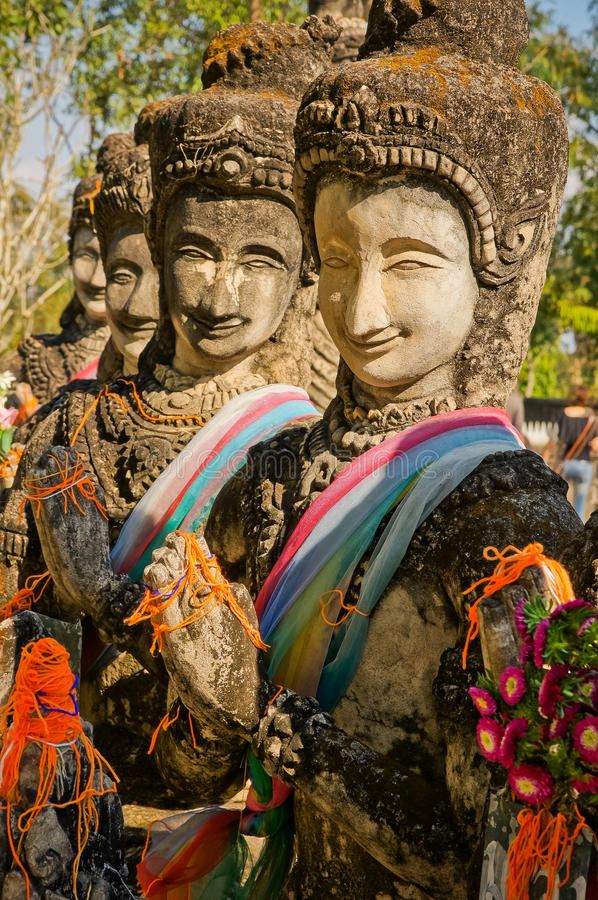 laos royaltyfri bild