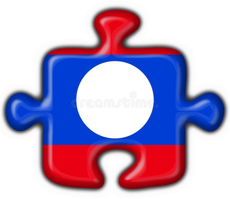 Download Laos Button Flag Puzzle Shape Stock Illustration - Illustration: 7797166