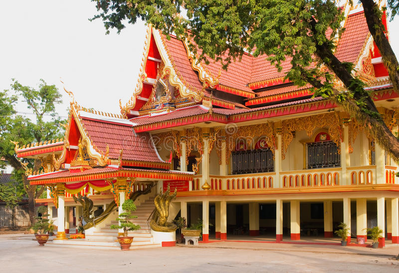 laos chan wat Vientiane obrazy stock