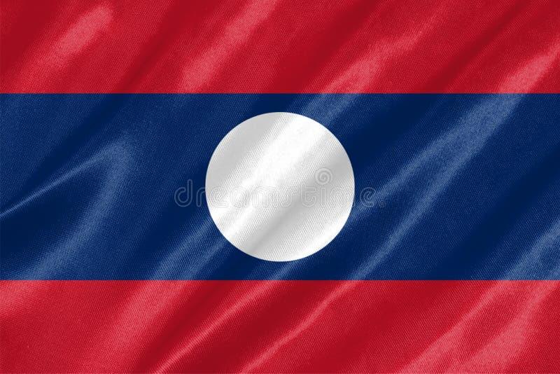 Laos-Flagge vektor abbildung