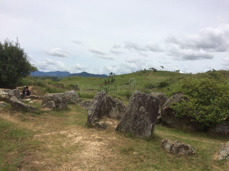 Laos, Krug-Tal lizenzfreies stockfoto
