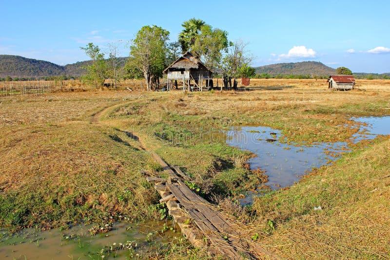 Laos-Landschaft lizenzfreie stockfotografie