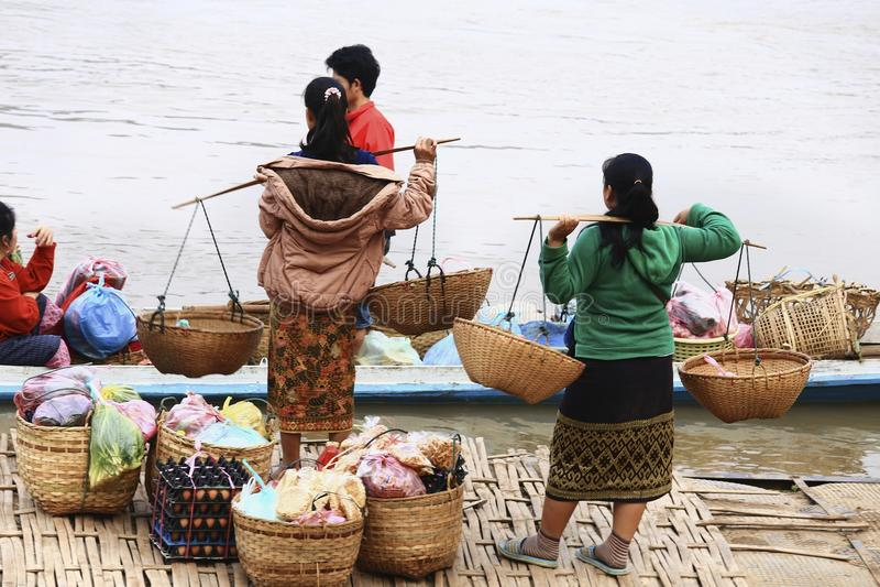 laos luang prabang zdjęcie stock