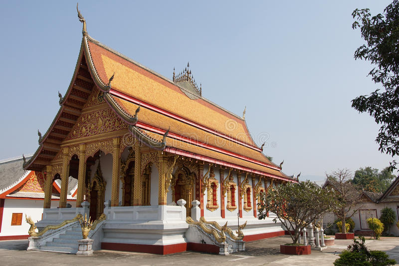 laos luangprabang royaltyfri fotografi