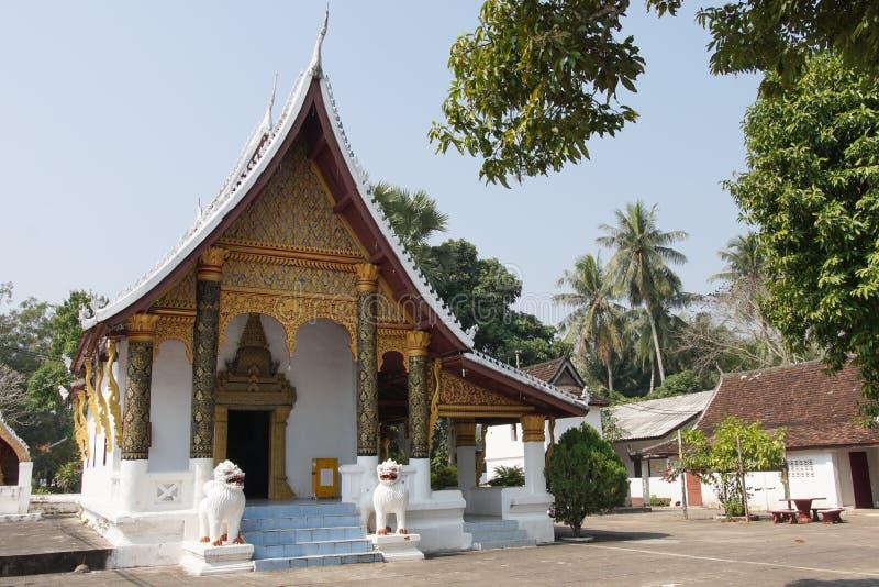 laos luangprabang royaltyfri bild