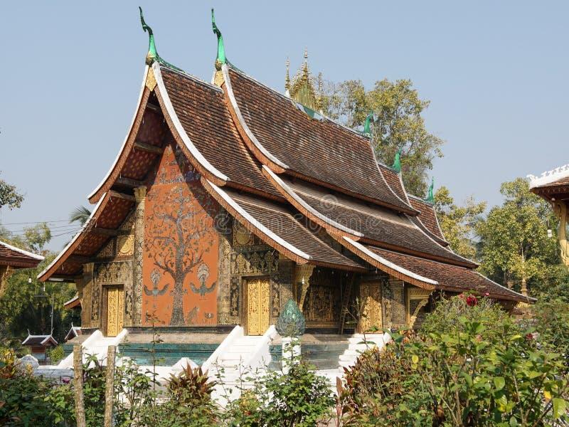laos luangprabang royaltyfria bilder