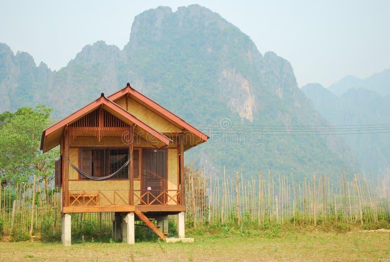 laos relaksuje vangvieng obrazy stock